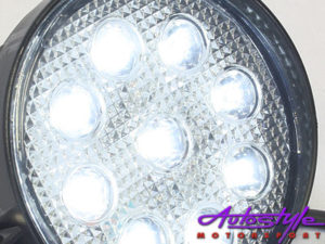 Universal 11cm Round 9 Led Spot Lamp-11644