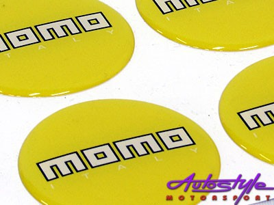 Momo Yellow Gel Mag Decals