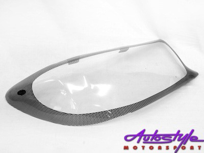 Toyota Fortuner Carbon Fibre Look Headlight Shields