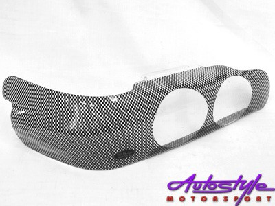 Toyota RSi Carbon Fibre Look Headlight Shields