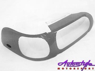 Toyota Tazz 2000up Carbon Fibre Look Headlight Shields