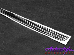 Carbon Fibre Style Bootlip Strip for Golf MK3-0