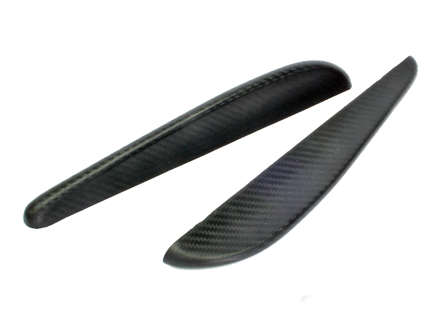 Universal Carbon Fibre Look Corner Splitter (33cm length)