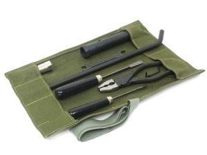 Roll Up Vehicle Tool Kit (Green Canvas)-0