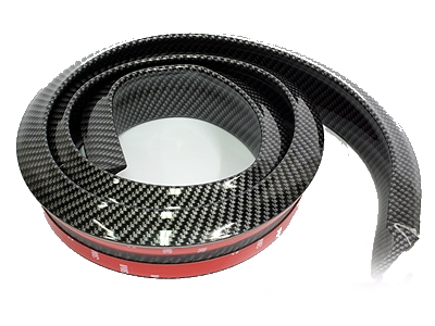 Samurai Universal Flexible Carbon Fibre Look Spoiler (thick)