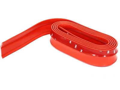 Samurai Universal Flexible Fibre Look Spoiler (red)