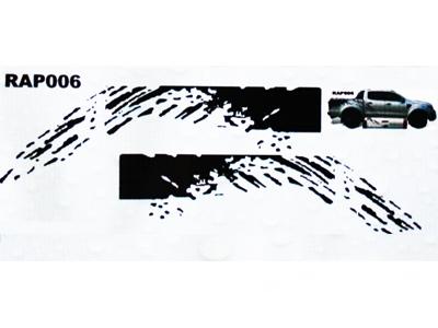 Mud Splash Vinyl Sticker kit for 4x4 & Bakkies-0