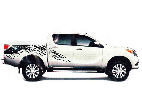 Mazda BT-50 Vehicle Vinyl Sticker Kit