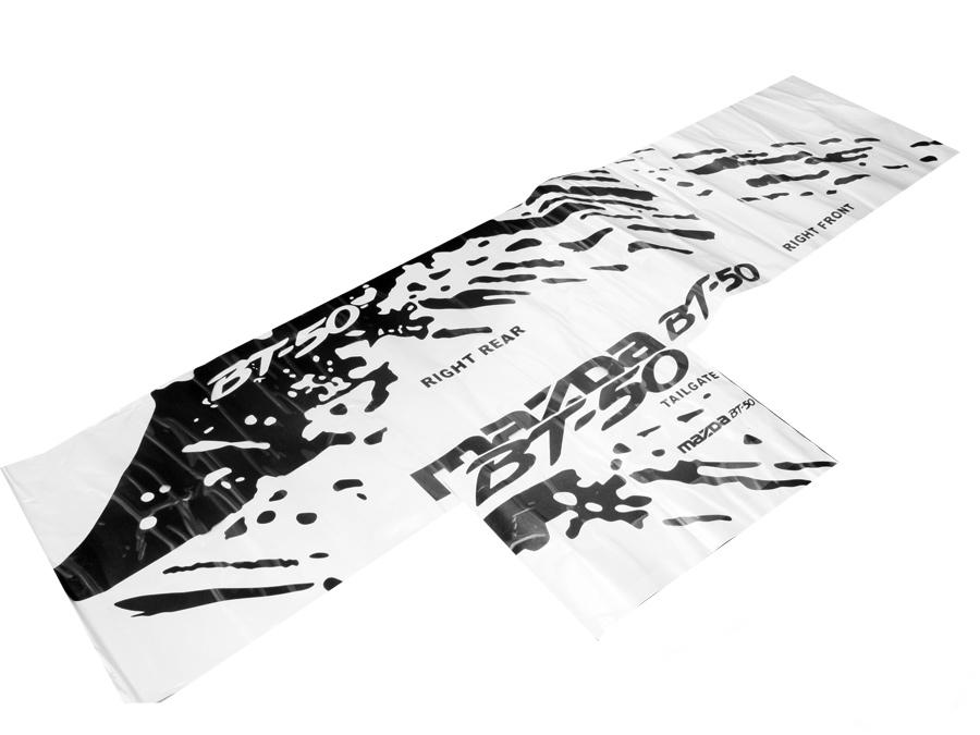 Raptor Vinyl kit for Mazda BT50
