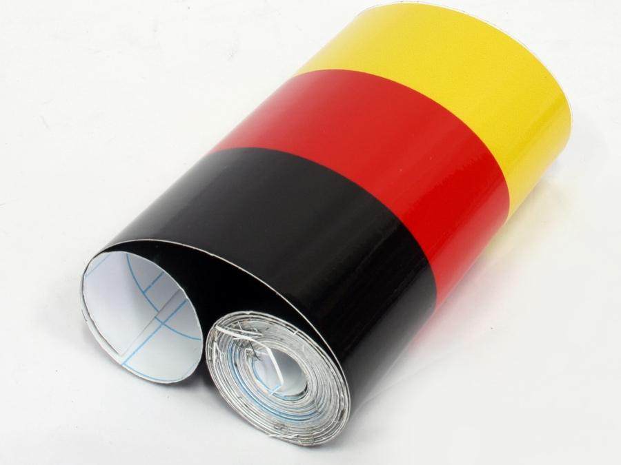 German Flag Design Racing Stripes (15cm x 4.5m)