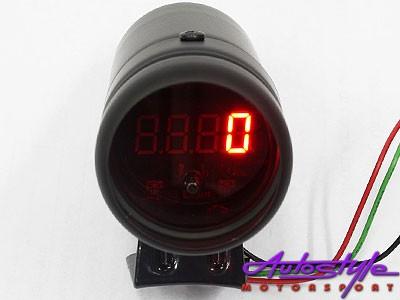 Autogauge Shiftlight with Tachometer (black)-0