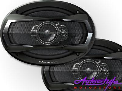 Pioneer TS-A6975S 500w 3Way 6X9 Speakers-0
