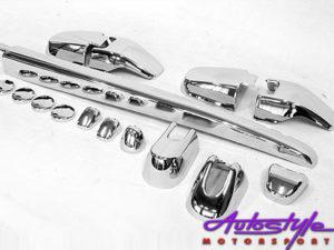 Kia Sportage Chrome Door Moulding Set-0