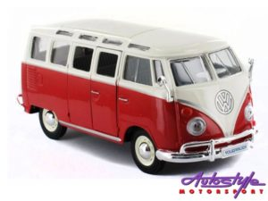 Maisto 1:25scale VW Samba Bus Model-0