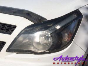 Chevrolet Utility 2012 Carbon Fibre Headlight Guards-22531