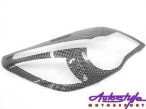 Chevrolet Utility 2012 Carbon Fibre Headlight Guards-0