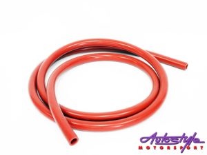 Silicon 12/18mm 212cm Pipe (red)-0