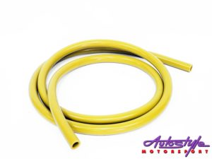 Silicon 12/18mm 212cm Pipe (yellow)-0
