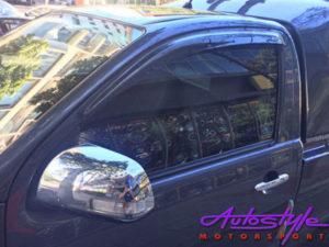 Carbon Fibre Windshields for Toyota Hilux Single Cab 05-11-0