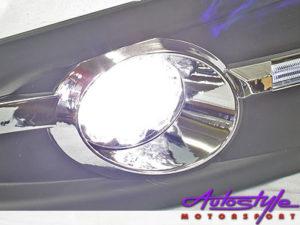 VW Polo Vivo LED Bumper Foglights with Surround-18082