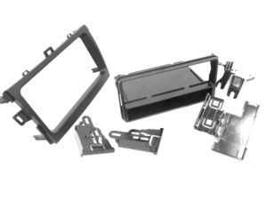Fascia Trim Plate for Toyota Corolla 2008 (double din)-0