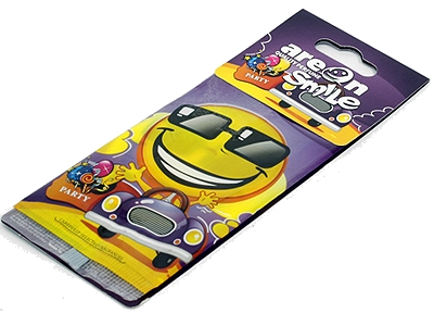 Smiley Car Air freshener disc