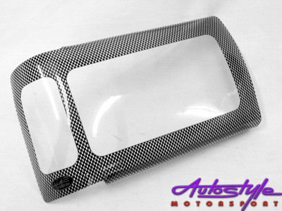Toyota Hilux 98 Carbon Look Headlight Shields
