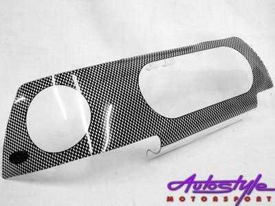 Toyota Conquest E8E9 Carbon Look Headlight Shields