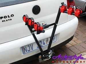 Universal 3 Carrier Bicycle Rack