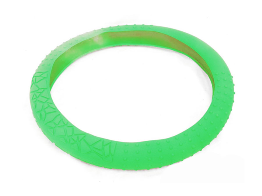 NX Racing Silicon Steering Wheel Cover (neon green)