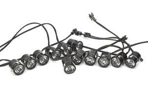 Nexon 12pcd LED DRL Lamps-0