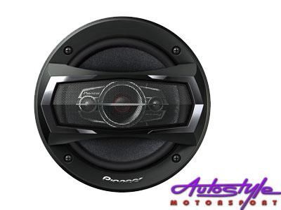"""Pioneer TS-A1685S 6"""" 4Way 350 Watt Speaker-0"""