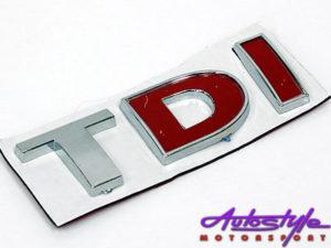 Volkswagen TDi Sticker Badge-0