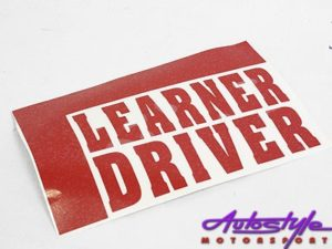 Learner Driver window sticker-0