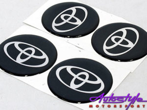 Toyota Wheel Center cap decals-0