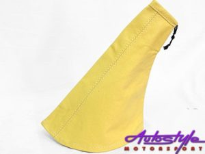 Leather Gear Surround Pouch (yellow)-0