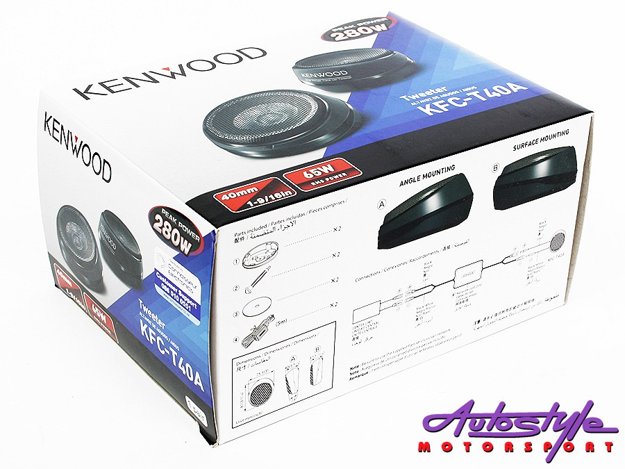 Kenwood KFC-40T Tweeter 65 Rms