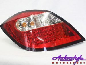 Opel Astra 04-08 LED Crystal Red Tailights-0