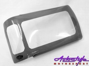 Toyota Hilux 98 Carbon Look Headlight Shields-0
