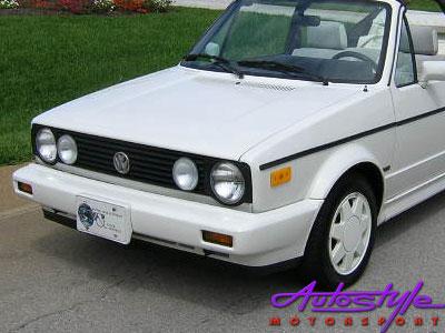 VW Golf Mk1 Karman Front Bumper - Refurbished