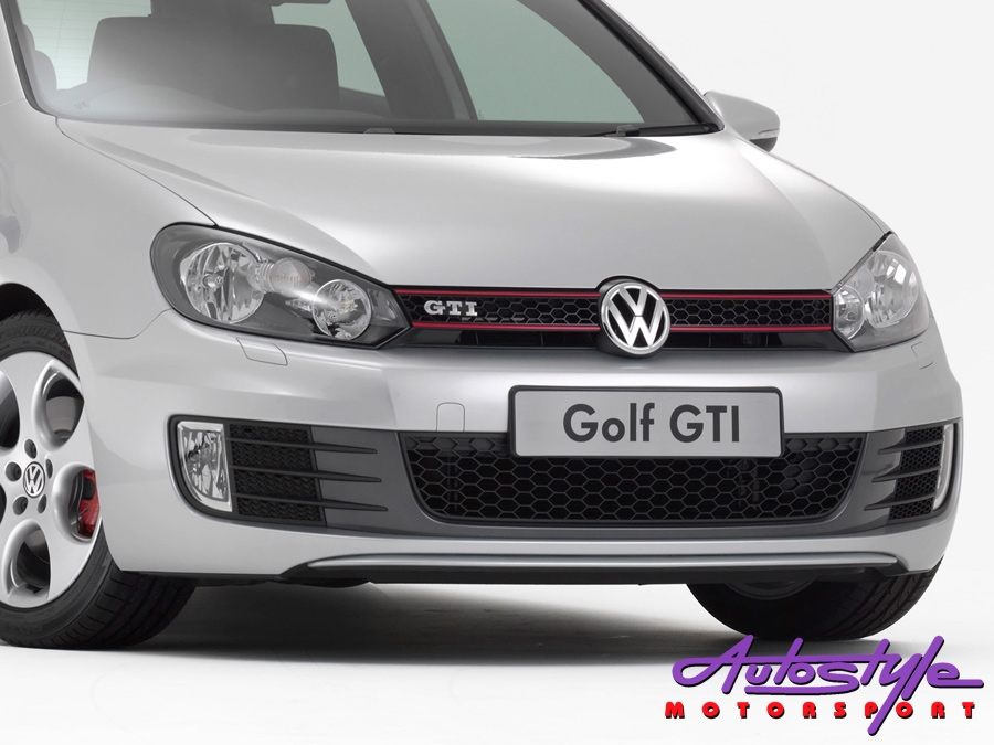 VW Golf Mk6 GTi Style Front Bumper