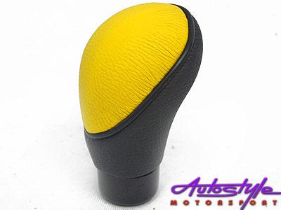 Universal Yellow Gearknob-0