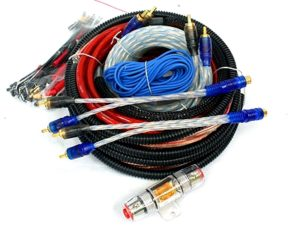 Powerbass 6 Gauge Wiring Kit including Rca Splitters-0