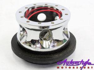 Honda Civic Chrome Steering Hub-0
