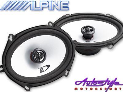 "Alpine SXE-572S 5x7"" Speakers-0"