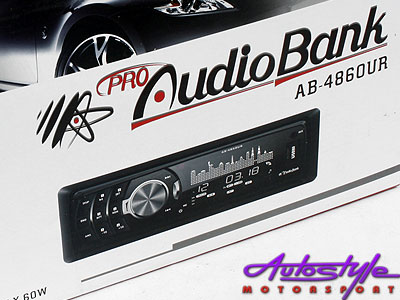 Audiobank AB-4860UR Mp3 with USB and front aux-16373