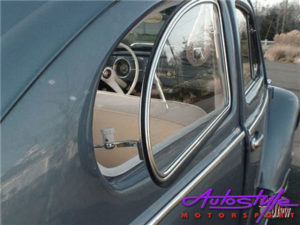 VW Beetle Pop Out Side Windows with Rubber (pair)-18702