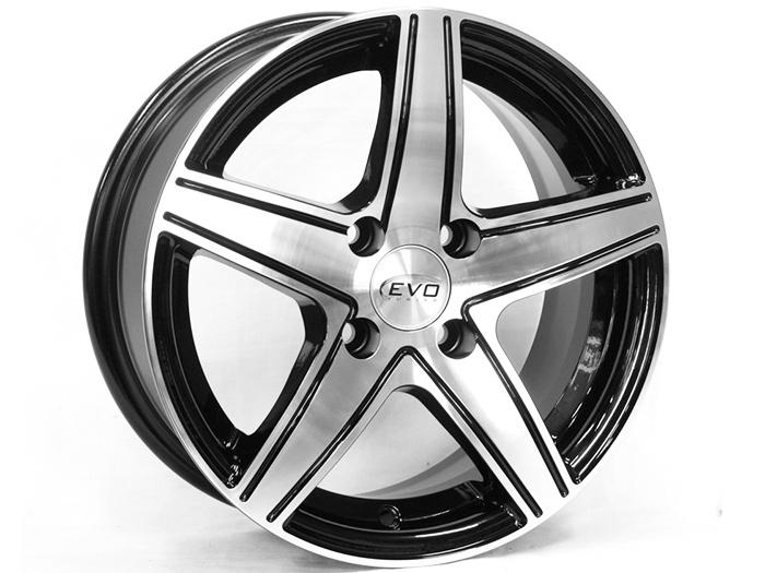 14″ Evo Star 4/100 Alloy Wheels