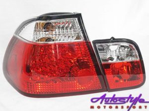 Suitable for E46 Semi Clear LED Tailights-0