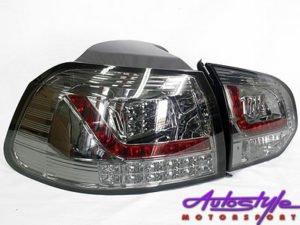 VW Golf Mk6 Smoked LED Tailights-0